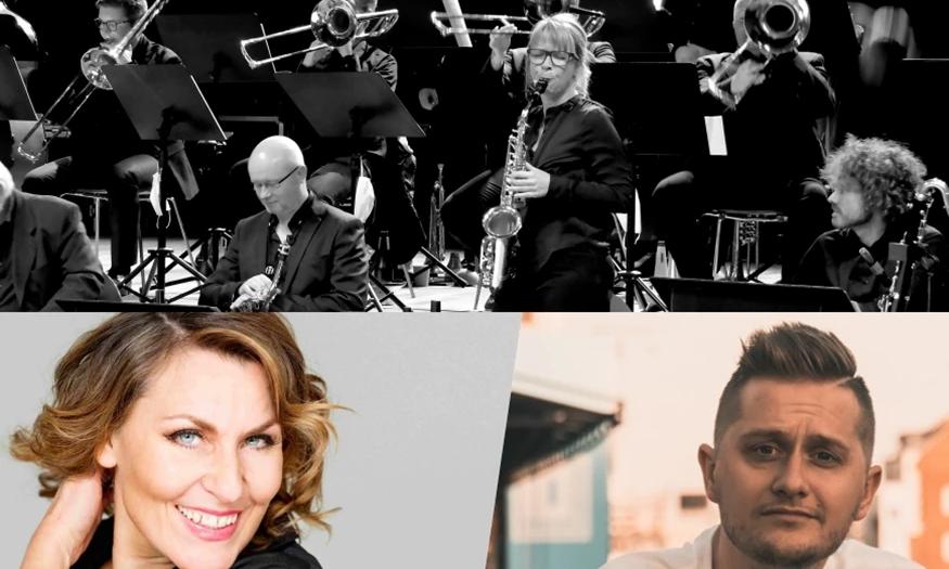 Juleshow 2021 | Nordkraft Big Band, Kaya Brüel og Gregers Mogstad