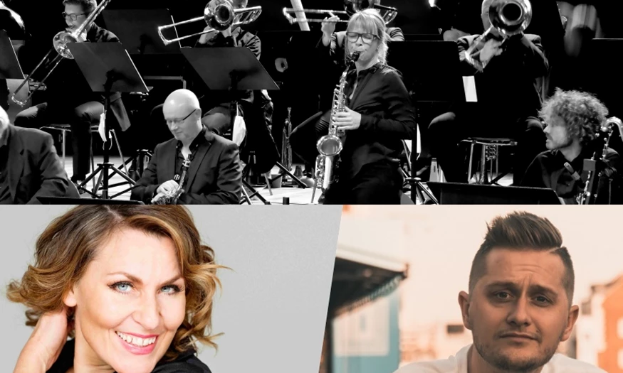 Juleshow 2021   Nordkraft Big Band, Kaya Brüel og Gregers Mogstad